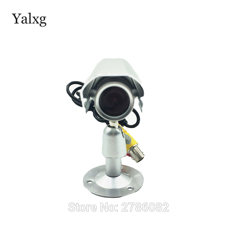 Yalxg HD SONY NVP2441+IMX323 Mini Bullet Full HD 1080P 2.0MP AHD Home Security Camera Wide Angle Wired Color CMOS Camera yalxg mini bullet 960p 1080p hd ahd camera sony imx 225 imx323 cmos sensor starlight 0 0001 lux security cctv camera 3 7mm lens