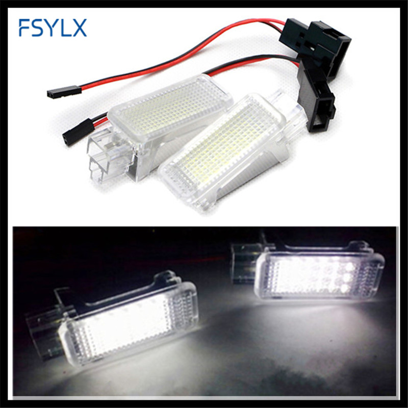 FSYLX LED interior Light for AUDI A3 S3 A4 S4 RS4 A5 S5 A6 S6 A8 Q5 LED pathway light for VW Golf Scirocco Tiguan Touareg Passat oem leather dsg s tronic gear lever shift knob cover for audi a1 a3 a4 a5 q3 q5 vw golf jetta mk5 mk6 tiguan