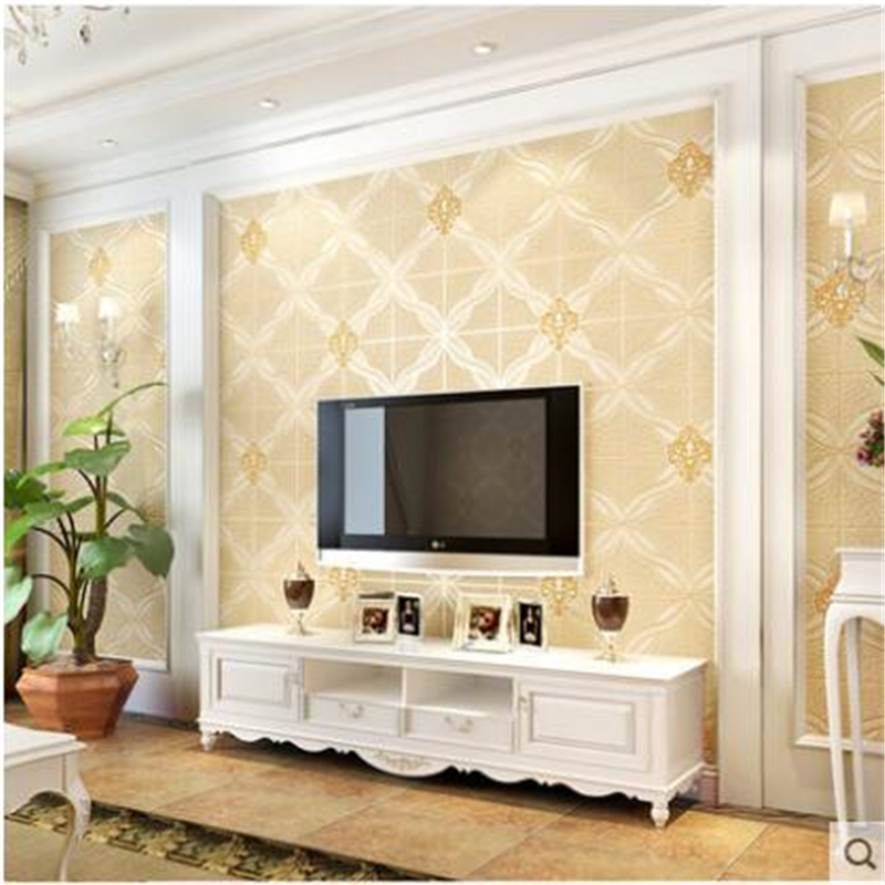 Beibehang papel de parede 3D Stereo Luxurious European Wallpapers Living Room Bedroom TV Background Wallpaper Nonwovens Relief beibehang european nonwovens wallpaper bedroom living room tv background wallpapers 3d relief three dimensional wallpaper