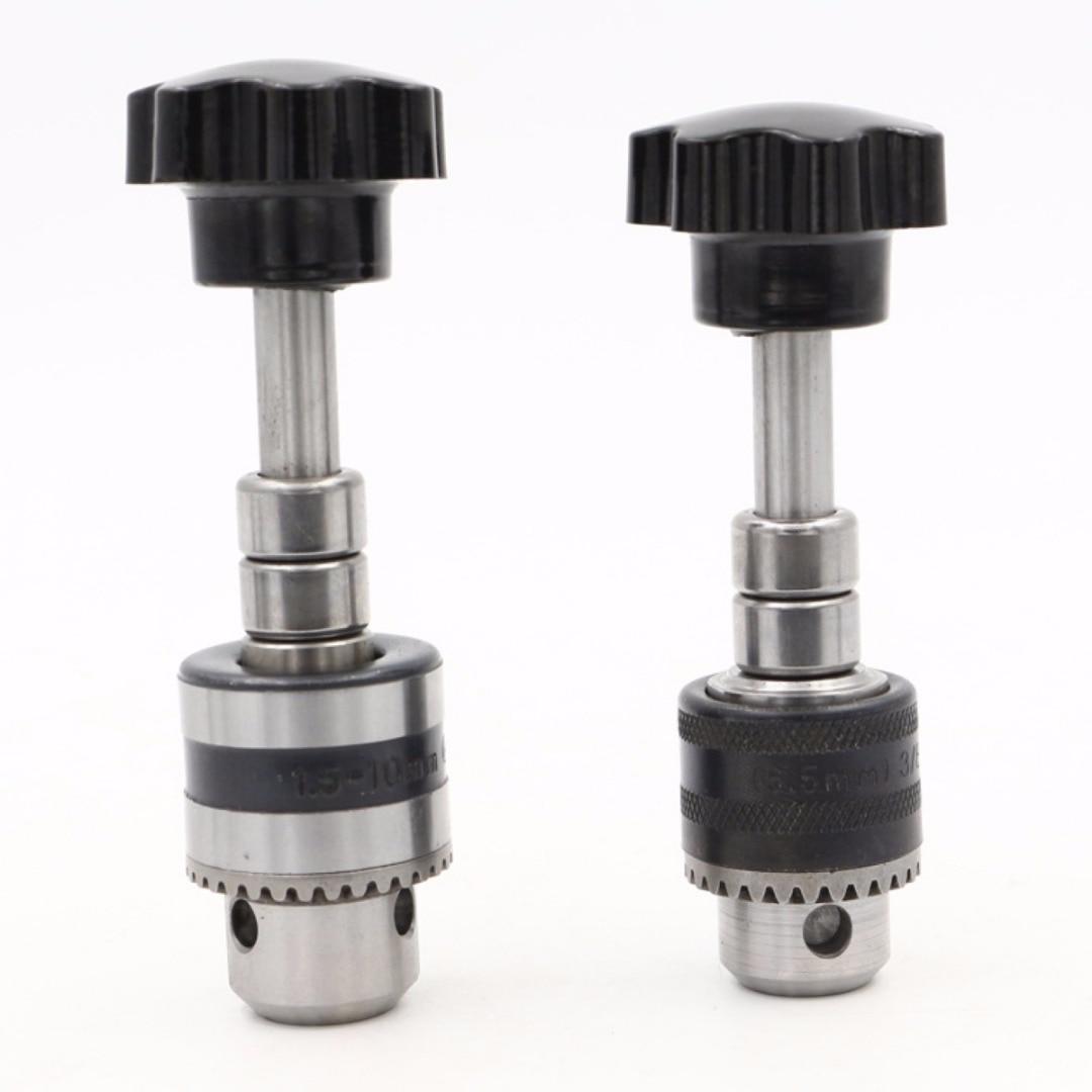 Mayitr Hand Drill Chuck Hand Twist Drill Bit Hole Punch Model DIY 0.5-6.5 1.5-10MM New