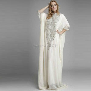 Image 4 - 2020 ערבית אופנה ערב שמלות עבור מוסלמי ערב ערבית קפטן דובאי יוקרה נשים זול גבישי פאייטים סגול