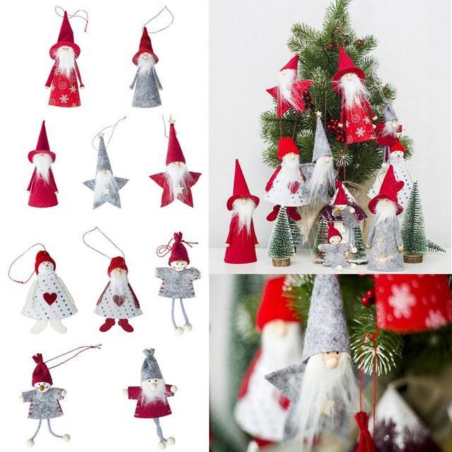Aliexpress.com: Comprar 2018 nuevo Papá Noel Navidad ornamentos ...