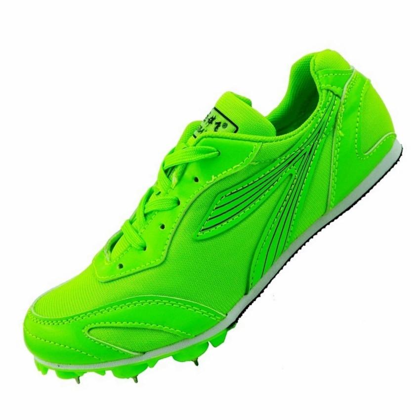 Точечные шипы Sprint кроссовки студент Тесты соревнования по легкой атлетике профессиональный спорт ногтей обувь Бег кроссовки мужские