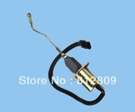Соленоидный клапан выключения 3935458 12 V электромагнитный SA-4763-12 5.9L 8.3L