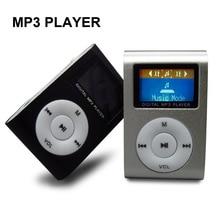 새로운 휴대용 mp3 음악 플레이어 lcd 화면 미니 클립 마이크로 tf/sd 카드 슬롯 전자 제품과 여러 가지 빛깔의 mp3 플레이어