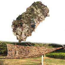Outdoor Military Desert Camouflage Netting Sun Shelter Hunting Tarps Camping Photography Background Decoration Net