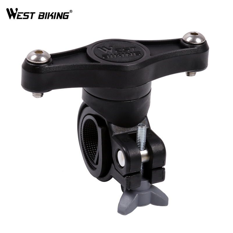 WEST BIKING Bicycle Water <font><b>Bottle</b></font> Cage Handlebar Adapter 360 Degree Rotation Water <font><b>Bottle</b></font> Cages Holder <font><b>Bike</b></font> <font><b>Bottle</b></font> Cage <font><b>Mount</b></font> image