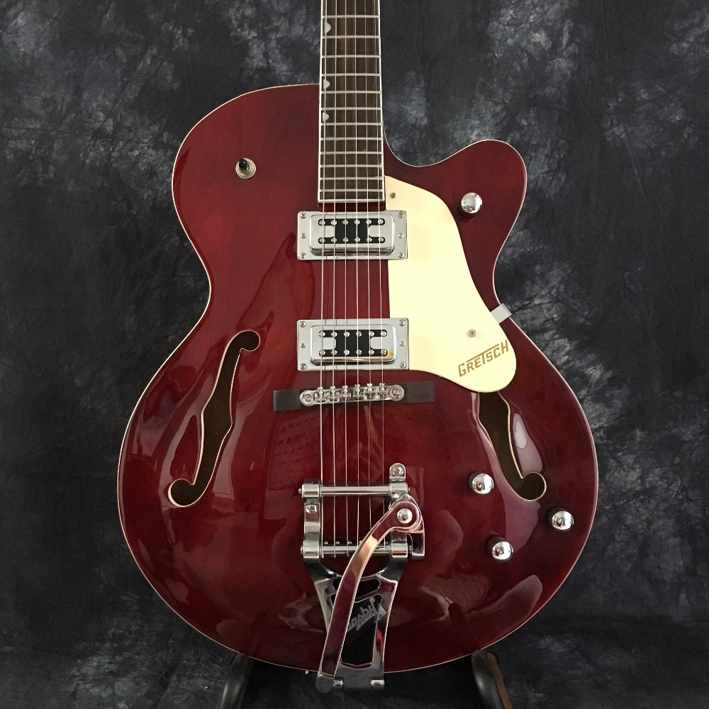 Grosu floor Skin care products hollow inflamed maple Bigsby gold brown ES 335 325 345 electric guitar Jazz Guitars all colors ta es 335 50th anniversary 1963 jazz es 335 semi hollow body electric guitar 5a quilt maple top gold hardware