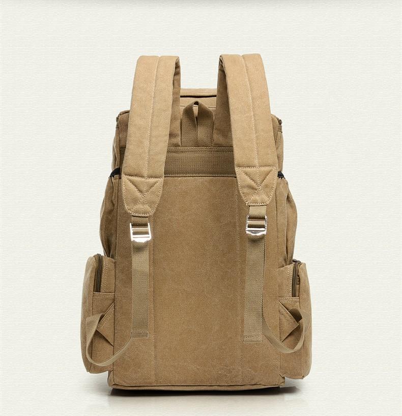large capacity canvas men s bag laptop backpack Women Travel Shoulder bags  male travel duffle backpacks school bagpack Mochila 96563670a06
