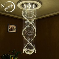 Empire loft classical crystal Europe vintage chandelier with GU10 9 lights for bedroom living room hotel lobby restaurant store