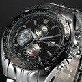 Топ люксовый бренд CURREN 8083 Мужские часы кварцевые модные повседневные мужские спортивные часы Дата часы полностью стальные военные наручны...