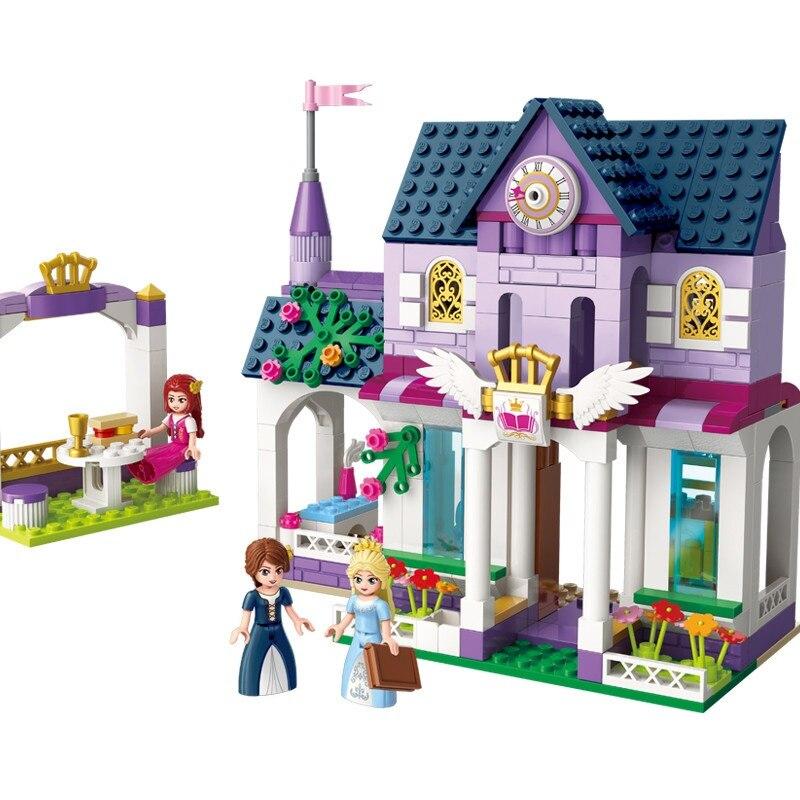 Galleria fotografica CHIARISCA City Girls Royal Royal College Building Blocks Imposta Mattoni Modello Bambini Buoni Giocattoli Per Bambini Compatibili <font><b>Legoings</b></font> Amici