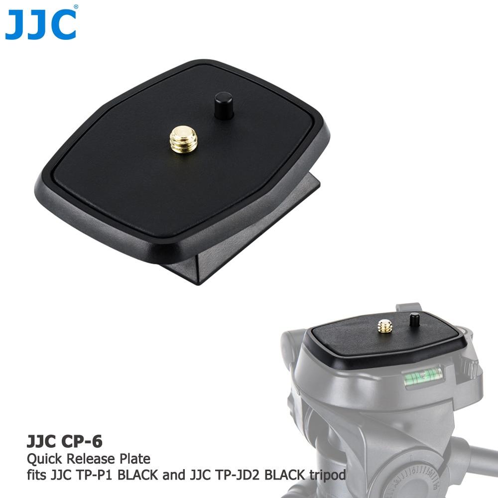 JJC Quick Release Plate 1/4-20 Standard Screw for JJC TP-P1 BLACK/TP-JD2 BLACK Tripod