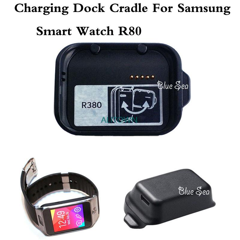10Pcs Lot font b Smartwatch b font Charger Cradle For Samsung Galaxy Gear 2 R380 Station
