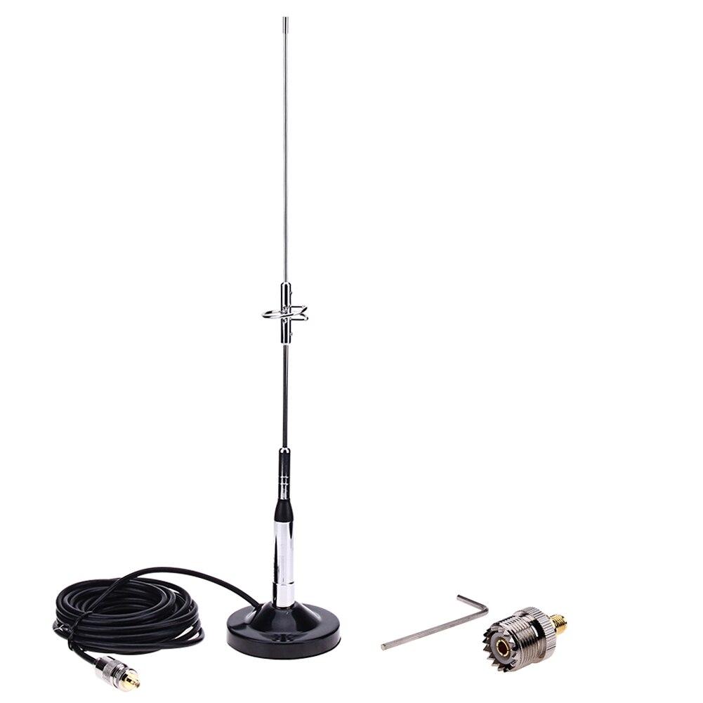 Antenne 770 S + câble de UHF-M de Base à montage magnétique + connecteur cuivre pur pour voiture