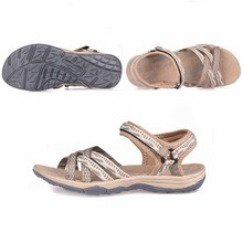 GRITION Women Sandals Outdoor Slip-on Flat Platform Sandalias Summer Ladies Beach Comfortable Flower Basic Shoes Black Pink Sand