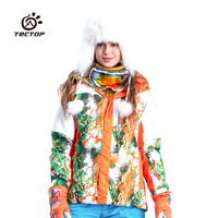 Winter Warm Thermal Waterproof North Mountain Skiing And Snowboarding Snow Clothing Ski Jacket Women Snowboard Snow Clothe Women