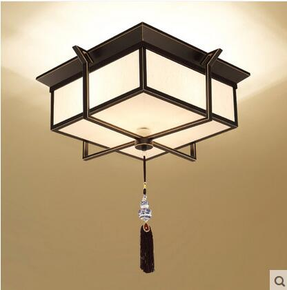 Square led iron retro new chinese ceiling lamp living room ceiling square led iron retro new chinese ceiling lamp living room ceiling lamp bedroom study hotel antique modern simple lo71411 in ceiling lights from lights aloadofball Choice Image