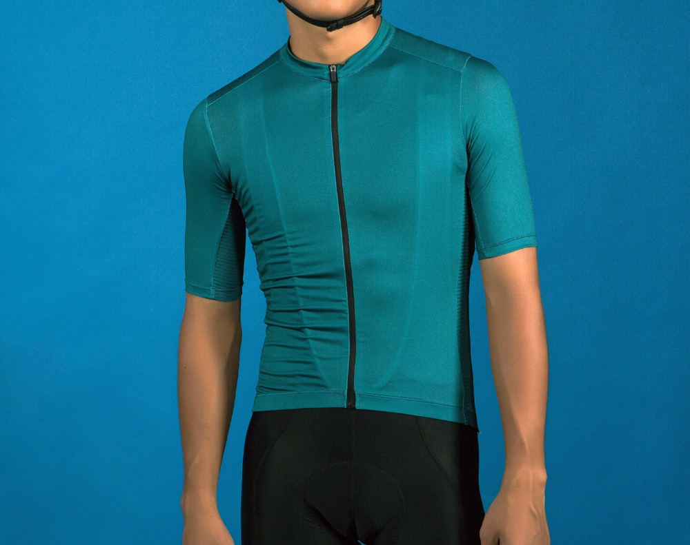 SPEXCEL 2018 Dark Green Pro Cycling Jerseys Short Sleeve For Training And Racing Cool Cycling Shirt