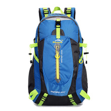 40L Waterproof Nylon Sports Mountaineering Backpack Women Men Outdoor Bags Hiking Camping Cycling Teenage Girls Rucksack XA30WD
