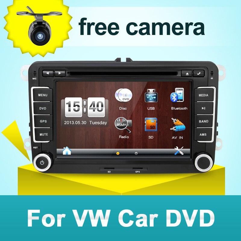 Autoradio 2 din dvd de voiture pour vw navigation pour VW GOLF 4 GOLF 5 6 POLO PASSATCC JETTA TIGUAN TOURAN SCIROCCO T5 avec GPS