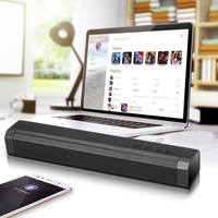 10W Hifi Bluetooth Speaker Bass Soundbar with Subwoofer Home Theatre System Boombox Music speakers woofer for xiaomi Samsung
