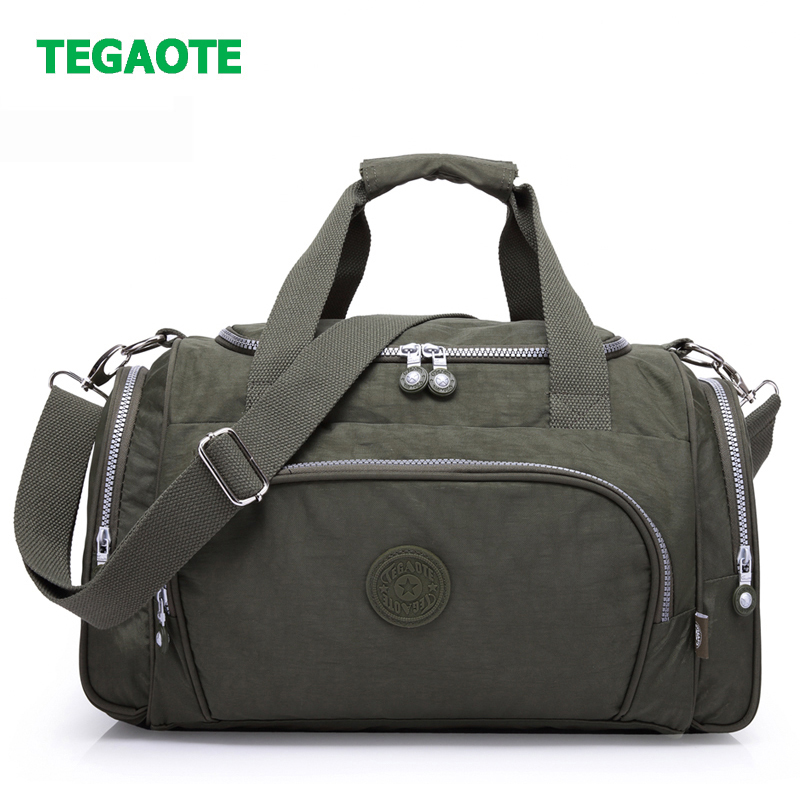 TEGAOTE Nylon Travel Bag…