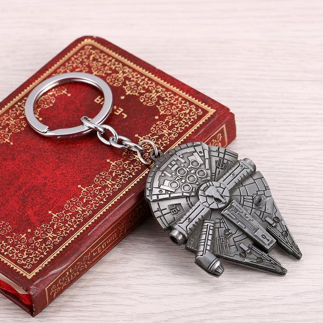 Starwars Millennium Falcon Key Keychain