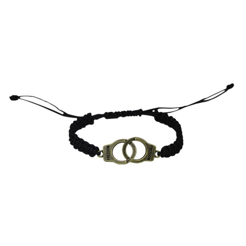 Adjustable Vintage Handmade Bracelet Men Jewelry Handcuffs Charm Bracelet for Women Accessories Friendship Girl Couple Bracelets 19