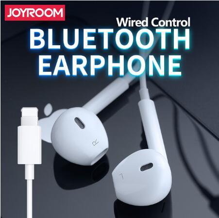 JOYROOM écouteur dans l'oreille casque filaire Bluetooth écouteurs pour Apple iPhone XS Max XR XS 7 8 Plus avec Microphone