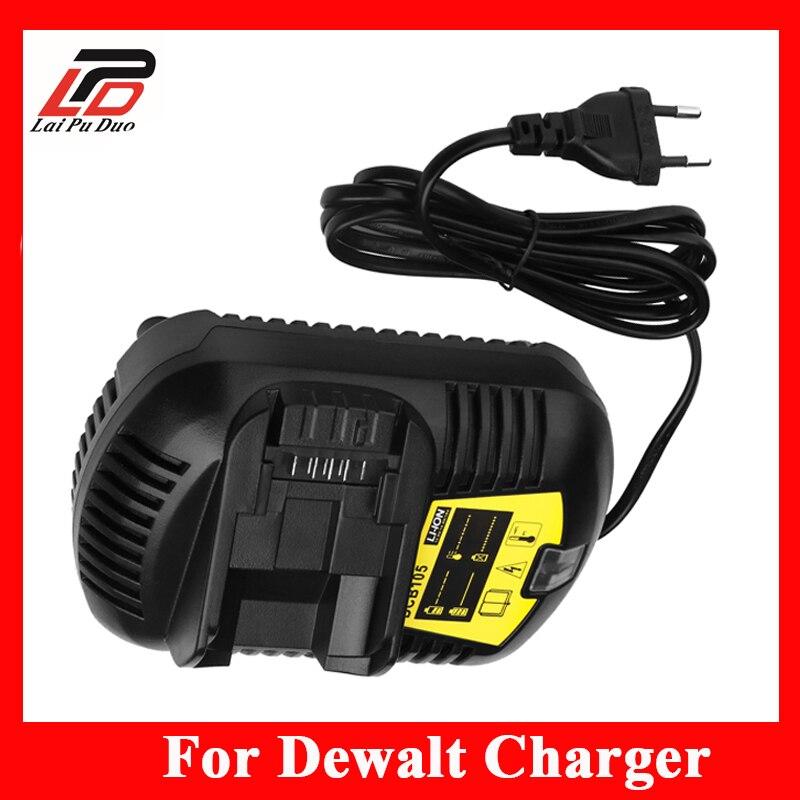 Новая замена Зарядное устройство Мощность инструмент Батарея Зарядное устройство для <font><b>Dewalt</b></font>, dcb101, DCB105, dcb200, dcb201, d-65510 110 В/220 В