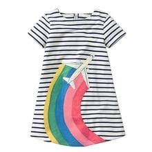 Baby Little Girls Animal Princess Summer Tunic Dress