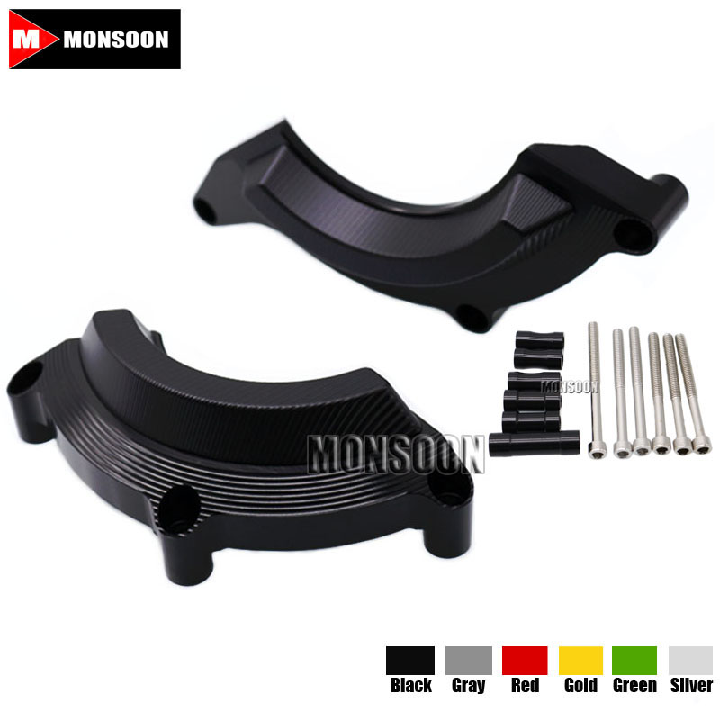 For KAWASAKI Z900 Z 900 2016-2017 Motorcycle Accessories Engine Protector Guard Cover Frame Slider Black kemimoto for kawasaki z900 2017 frame slider engine guard protection case saver for kawasaki z 900 2017 moto parts accessories