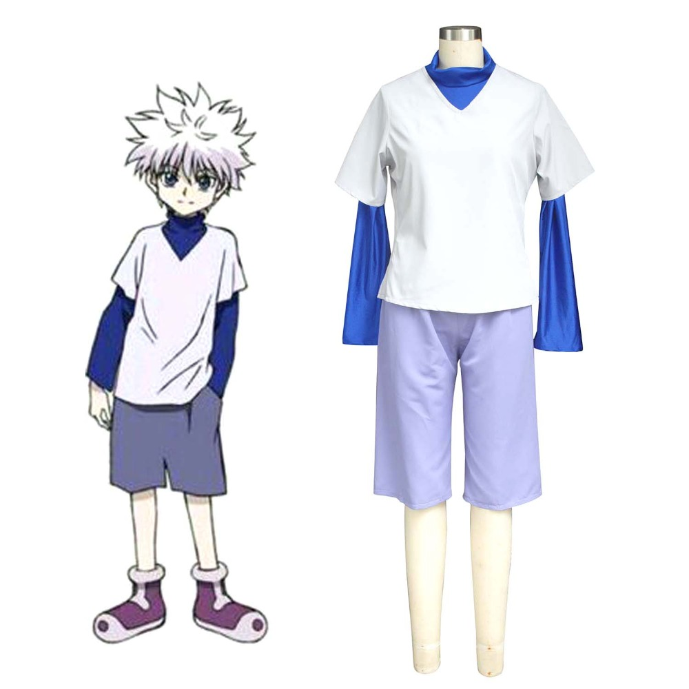 Japanese Anime Hunter X Hunter Killua Zoldyck Cosplay ...