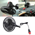 Summer Supplies 12V Powered Mini Car Truck Vehicle Cooling Air Fan Car Fan 4Inch