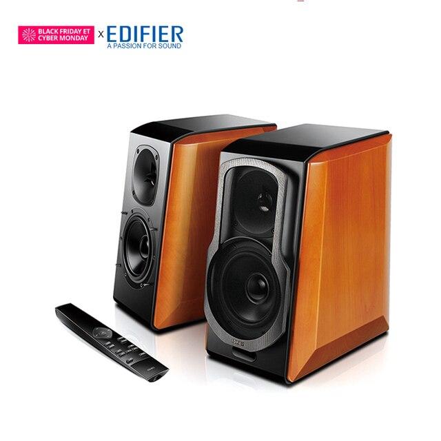 c08050084bc947 EDIFIER S2000 Pro HIFI Bluetooth Speaker Full Digital Amplifier Powerd Bookshelf  Bluetooth Speaker Support Apt-X Remote Control