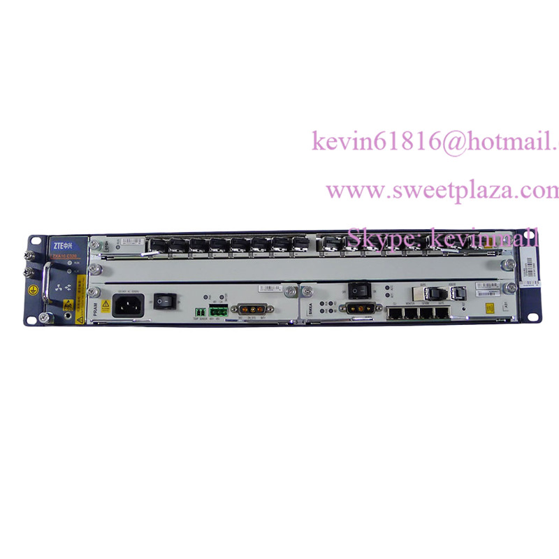 19 inch ZTE OLT C320 OLT with AC DC power supply input 10G SMXA 3 or