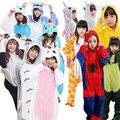 Unicórnio Kigurumi Onesie Adulto Animal Pijamas Para As Mulheres Da Menina do Menino Do Miúdo Engraçado Animel Cosplay Carnaval Trajes de Dormir