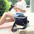 S m camera case bag para nikon d3100 d3200 d3300 d5100 D5500 D5300 D5200 D90 D800 DSLR Cámara A Prueba de Agua Bolsas de fotografía bolsa