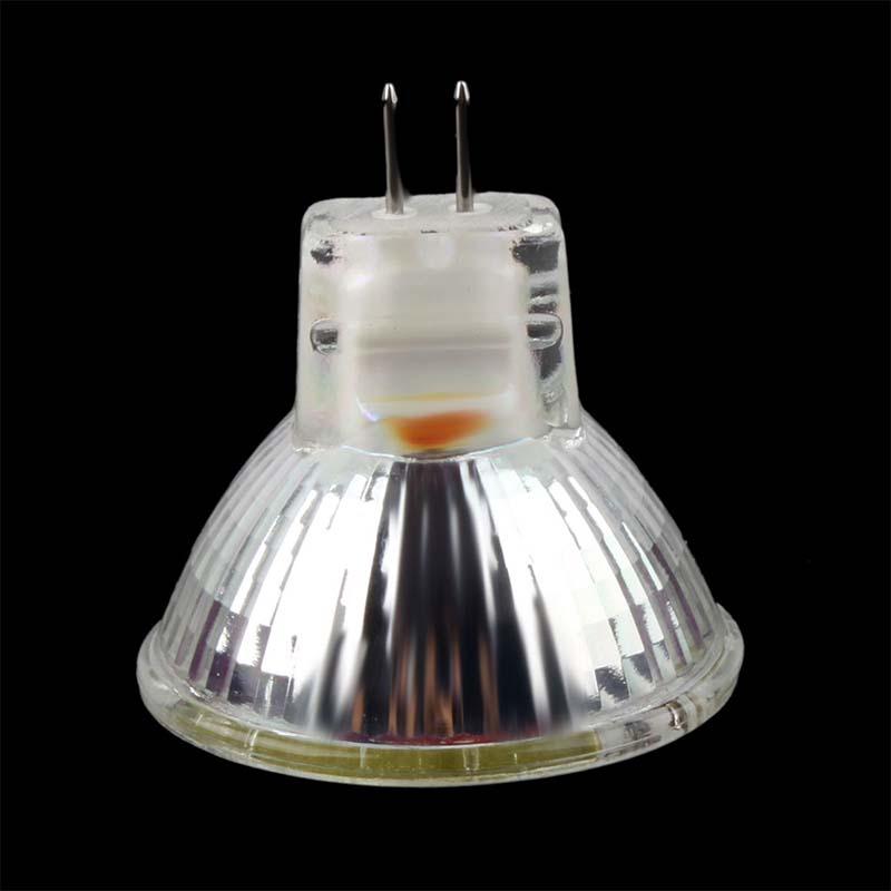 Купить с кэшбэком HRSOD 10X GU4(MR11) 6W 12 SMD 5730 570 LM Natural White warm white MR11 LED Spot light  Bulb DC 12 V LED Spotlight led lamp