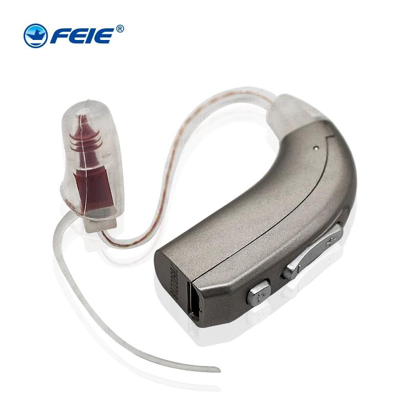 FEIE 1pcs Digital Hearing aid Amplifier Auidphones MY-33 Audifonos In Ear Para Sordos for Mild To Profound Hearing Loss high quality feie digital ear hearing machine s 10b mini invisible hearing aid for mild hearing loss