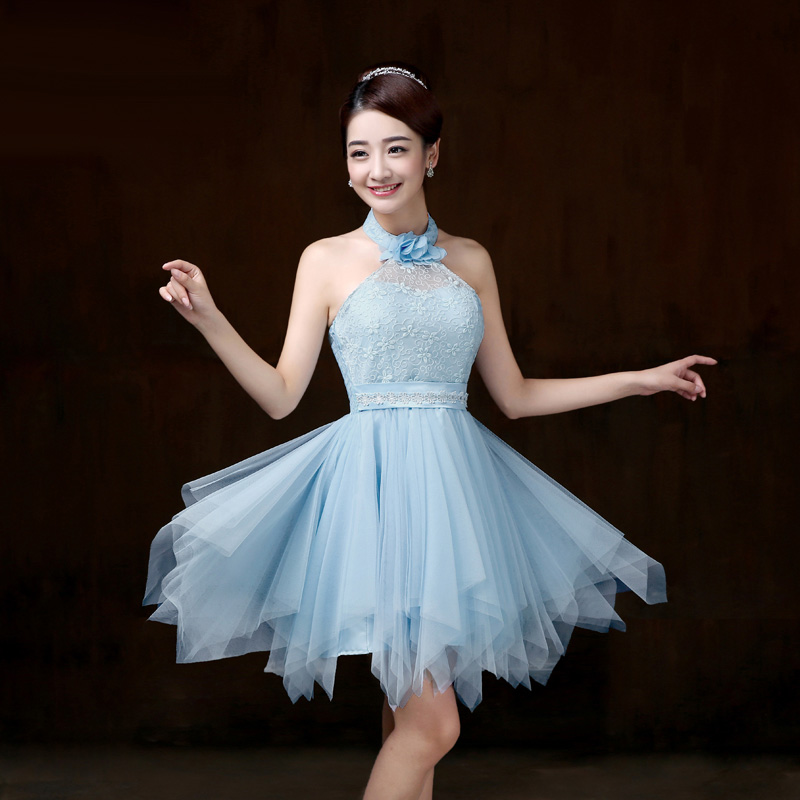 016 New In Stock Cheap Junior Bridesmaid Dresses Strapless
