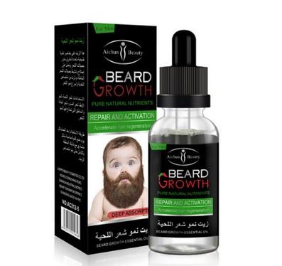 by dhl or ems 200pcs Men Beard Growth Enhancer Facial Nutrition Moustache Grow Beard Shaping Tool