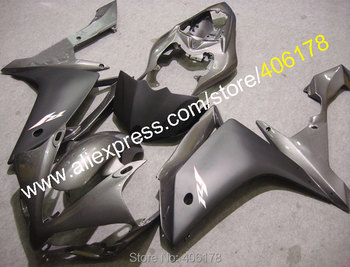 Body Kits for YZFR1 YZF1000 2007 2008 YZF-R1 07-08 YZF1000R1 YZF R1 Gray Fairing (Injection molding)