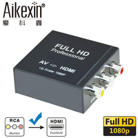 Aikexin Mini RCA Composite CVBS AV To HDMI Video Audio Converter Adapter Support PAL NTSC For