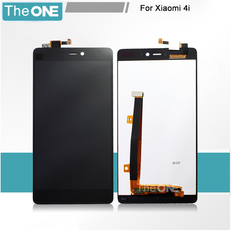 LCD Display +Touch Screen Digitizer Assembly For Xiaomi 4i Mi4i M4i (not For Xiaomi Mi4) Black Free Shipping