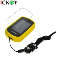 Protect Yellow Case Black Detachable Ring Neck Strap Screen Protector For Hiking Handheld GPS Garmin ETrex