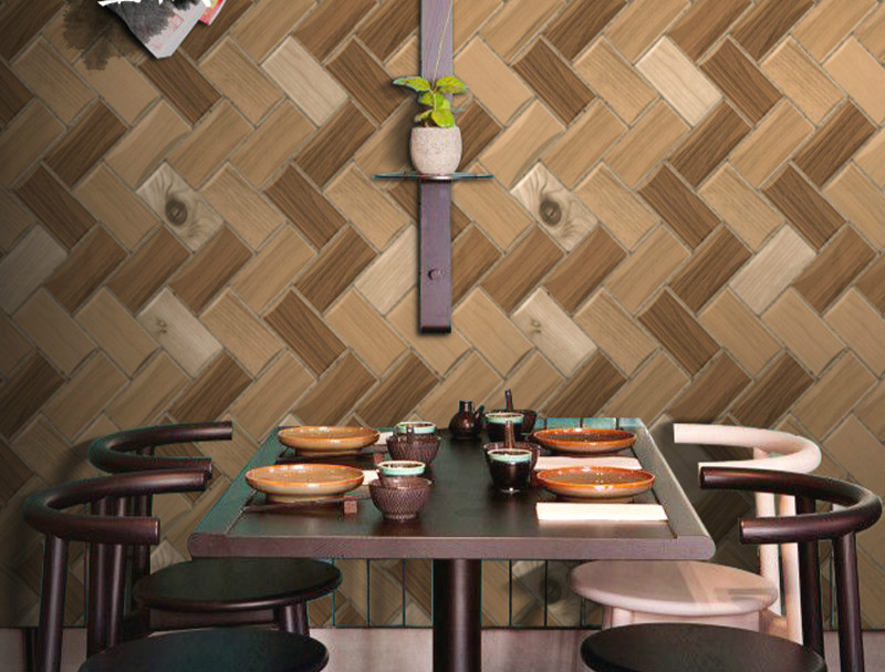 ФОТО Vintage Brick Wallpaper Chinese Style Wall Roll Modern 3D Effect Brick Wallpaper For Walls,Living room Background Covering