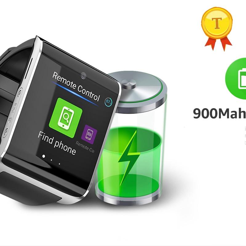 new big battery capacity man 4g smart watch 1g ram 16gb rom BT4 0 wristwatch phone