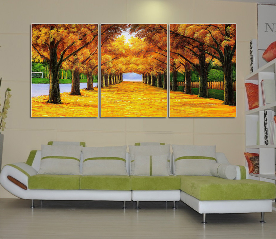 Frames For Living Room Walls Pics Of Beautifully Decorated Rooms Modern Wall Stickers Decorative Painting Frame Bedroom Mural Paintings Shipping Golden Avenue